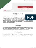 01_SAP QM Tutorial - Tutorialspoint
