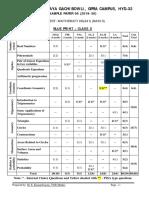 Maths Basic Class x Sample Paper 06 for Board Exam 2020