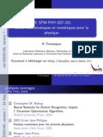 Outils mathématiques et numériques pour la physique