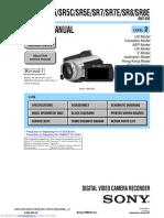 Sony HDR-SR5/SR5C/SR5E/SR7//SR8  Service Manual