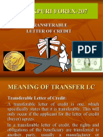Janakpuri Forex-207-Transferable Letter of Credit