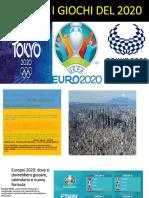 Rinviati i Giochi Del 2020