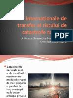 Politici internaționale de transfer al riscului de