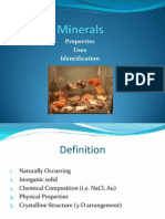 Mineral Lecture