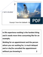 Waiting and watching Excerpt by THEIL Handouts