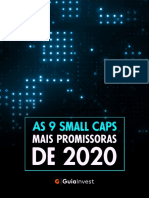 PDF - As 9 Small Caps Mais Promissoras de 2020