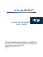 Double-Take Availability User's Guide