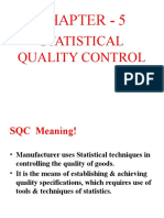 CHAPTER - 6 Statistical Quality Control