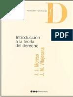 Introducción a La Teoría Del Derecho-jose-juan-moreso-PDF