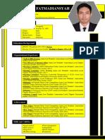 Contoh CV Sederhana