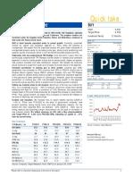 Hawkins Cooker Ltd - Company Profile, Performance Update, Balance Sheet & Key Ratios - Angel Broking