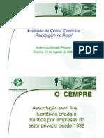 Mapa da Reciclagem no Brasil