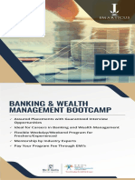 BANKING & WEALTH MANAGEMENT BOOTCAMP