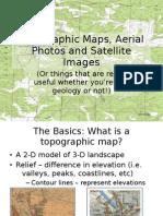 Topographic Landsat Maps Lecture