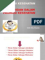 PP PROMKES 3 PERAN BIDAN DALAM PROMOSI KESEHATAN