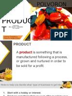 ICTE W2D3 Produce  a Simple Product v2-polvoron.pptx