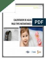 CALENTADORES DE PASO GAS