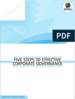 Five Steps to Effective Corporate Governance