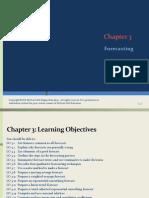 Chapter 3 Forecasting