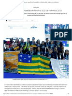 Conheça os campeões do Festival SESI de Robótica 2020 - Agência CNI de Notícias