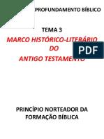 Tema 3. Os patriarcas