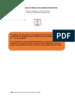 actividades de refuerzo unidad 0 y 1 historia 4º básico.doc