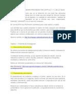 ASPECTOS A CONSIDERAR PARA REDACTAR CAPÍTULO 1 Y 2 DE LA TESIS