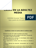 Crisis en la Adolescencia Media