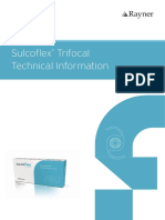 Sulcoflex Trifocal Technical Data Sheet