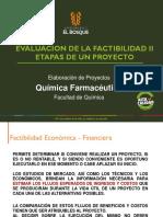 EVALUACION DE LA FACTIBILIDAD II - ETAPAS DE UN PROYECTO