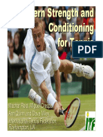 Modern Strength and Conditioning for Tennis - Reid et al. London 2003
