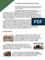 Evolutia armelor utilizate de Fortele Terestre.doc