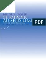 Nuden Dorjé - Le miroir au sens limpide - Trésor du Dzogchen  -Almora (2009)