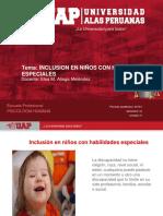 INCLUSION DE NIÑOS ESPECIALES