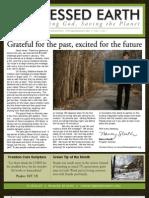February 2009 Blessed Earth Newsletter