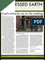 September 2009 Blessed Earth Newsletter