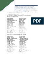 etimologia griega listado