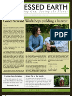 July 2009 Blessed Earth Newsletter