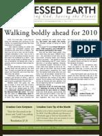 January 2010 Blessed Earth Newsletter