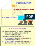Paper-III Recruitment And Promotion Regulations