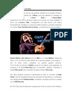 BIOGRAFÍA DE GARY MOORE