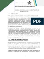 TECNICAS DE RECOLECCIÓN DE INFORMACIÓN