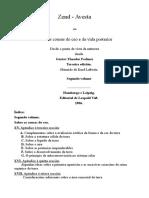 Zend Avesta 02 Galego Gustav Theodor Fechner