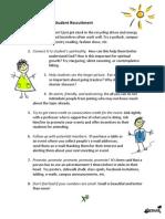 Tips for Student Recruitment