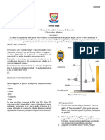 PÉNDULO SIMPLE - INFORME DE LABORATORIO.doc