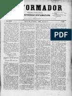 REFORMADOR 1 de setembro de 1900 Jornais e grupos espiritas adesos à FEB