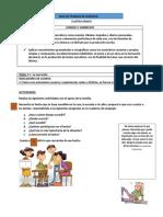 Guía de Lenguaje Cuarto Grado Unidad 3. Lección 2.Ok