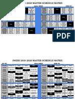 2019-2020 swehs master schedule - google docs