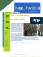 Internal Newsletter #5