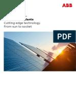 9AKK107492A3277 Photovoltaic Plants - Technical Application Paper